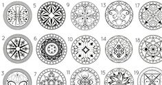 The designs would be really cool tattoos!  Which Mandala Are You Drawn To? It Says More About You Than You Think!