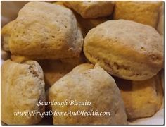 Delicious Homemade Sourdough Biscuits