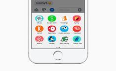 iOS 10 : Apple active progressivement les catégories pour les applications dédiées à iMessage