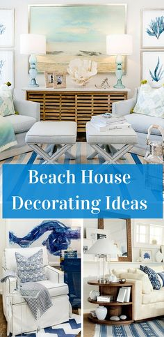 The goal of many beach house decorating ideas is to give your space an airy, effortless style. There are some key décor elements that embrace this way of living, and bring a contemporary coastal style to your home year-round, all seasons.