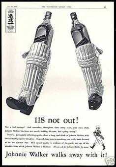 1938, Johnnie Walker Scotch  Whisky Ad