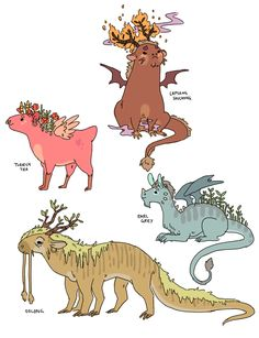 These Huggable Dragons Grow Tea Leaves on Their Backs