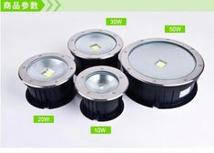 8pcs/lot 50W COB underground floor recessed lamp foot lamp led underground lamps Buried ground12v 24v  85-265V buried lights. Yesterday's price: US $649.00 (569.43 EUR). Today's price: US $610.06 (533.31 EUR). Discount: 6%.