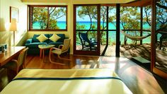 Lizard Island, Australia, Love this room with the view <3