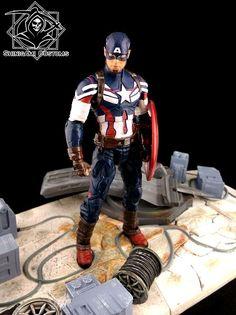 Captain America - Inspired by Avengers 2 Custom Action Figure
