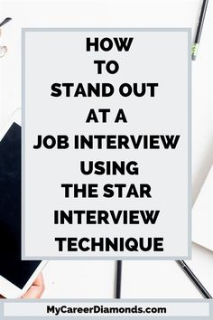 Do you want to ace your job interview? L:earn what the STAR interview technique is and how to apply it at an interview. The STAR interview method will help you to stand out and leave a great impressio Interview Tips And Questions, Interview Questions And Answers, Job Interview Tips, Job Interviews, Interview Dress, Job Resume, Resume Tips, Job Interview Hairstyles, Behavioral Interview