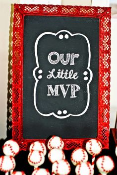 Our Little MVP decorative frame for an allstar sport theme birthday party! Sports Themed Birthday Party, Birthday Themes For Boys, Sports Party, 1st Boy Birthday, First Birthday Parties, First Birthdays, Birthday Ideas, Sport Theme, Baby Shower
