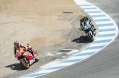 """Mundial de MotoGP – O primeiro """"passe de mágica"""" no Saca-rolhas de Laguna Seca. De carro, em 1996, com o lendário Alex Zanardi…"""
