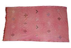 Moroccan Cactus Silk Rug, 6'4'' x 3'8'' on OneKingsLane.com