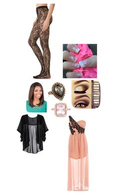 """""""Beauty"""" by duckdynasty ❤ liked on Polyvore featuring labworks, Falke and Glacier Jewellery"""