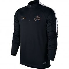 Nike Paris Saint-Germain Drill trainingsshirt black #Nike #trainingsshirt