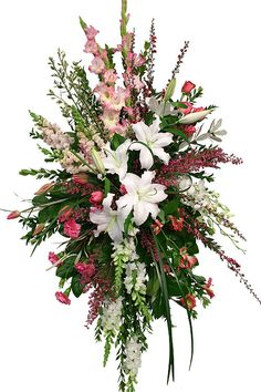Elegant Funeral Sprays | Canada Flowers > Funeral > Funeral Sprays > Perfectly Peaceful #11