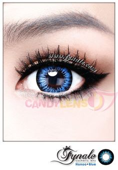 8717678ee4d Honoo Blue Circle Lens - From Candy Lens.com Purple Contacts, Green  Contacts Lenses