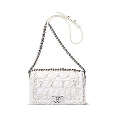 Winter Whites ❤ liked on Polyvore featuring bags and chanel