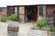 The original Foxen Winery & Vinyard featured in Sideways