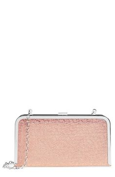 0651a4ccf Glint 'Geo' Metallic Minaudiere available at #Nordstrom Pebbled Leather, Evening  Bags,