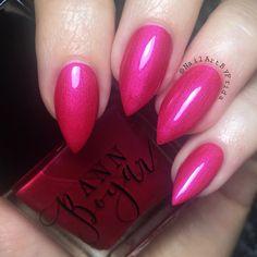 PINK ELEPHANT - esmalte de uñas color de rosa caliente, esmalte de uñas de lujo, uñas esmalte de uñas laca, esmalte de uñas de vegano, reflejo, orgánicos regalos adolescentes, AnnBoyar