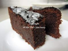 Shu-Yin's Sanctuary: Flourless Chocolate and Almond Cake