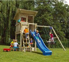casita infantil parque infantil de madera beach hut con columpio doble br indalchess