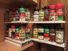 Spice Rack Nj Custom Products  Vertical Spice Spice Rack Drawers For Cabinet Inspiration