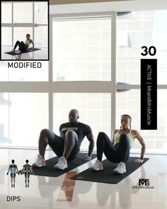 Fitness Workouts, Full Body Hiit Workout, Hiit Workout At Home, Gym Workout Videos, Gym Workout For Beginners, At Home Workouts, Beginner Gym Workouts, Upper Body Hiit Workouts, Plank Workout