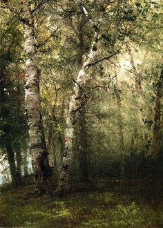 """John Frederick Kensett  """"Forest Landscape"""""""