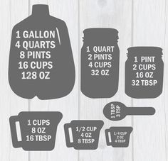 Baking Measurements SVG Cut File for Cricut & Silhouette - Dessert Recipes Just In Case, Just For You, Kitchen Measurements, Cooking Recipes, Healthy Recipes, Cooking Cake, Cooking Pasta, Cooking Tools, Cooking Icon