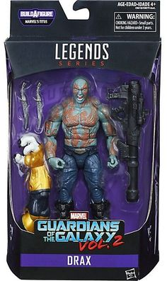 Marvel Legends Guardians of the Galaxy Vol. 02 Drax 6-Inch Action Figure BAF Titus