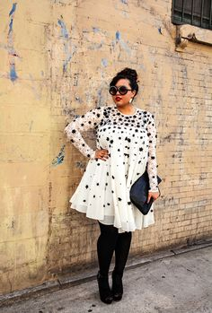 """Meet our new favorite blog! GabiFresh...""""If you love fashion but you're sick of being told to wear A-line skirts, wrap dresses, boot cut jeans, and slimming prints, this is the blog for you."""""""