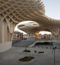 Metropol Parasol, Siviglia, 2009 by J. Mayer H. Architects #architecture #public #space #square