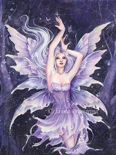 Fairy and Fantasy art by Janna Prosvirina -  Fairy Dust