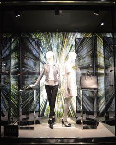 trendvm: Reflective Statements: Hugo Boss, Ermenegildo Zegna, Louis Vuitton & Rag & Bone, London