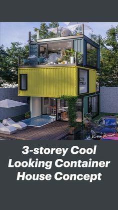 Shipping Container Home Designs, Container House Design, Tiny House Design, Modern Tiny House, Storage Container Homes, Tiny House Trailer, Tiny House Cabin, Contener House, Metal Building Homes