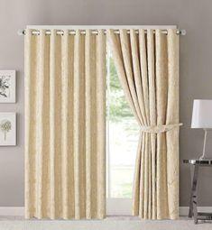Závěsy Zarina 228 x 228 cm zlatavé - kovová oka Curtains, Design, Home Decor, Blinds, Decoration Home, Room Decor, Draping, Home Interior Design