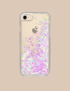 Bringing a light hearted touch to your day-to-day clear case. Available for iPhone 7 or 7 Plus. - Protective iPhone Case - Available in three color ways - Gold - Lilac - Magenta - Easy to attach/remov