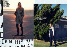 Hildie & Pat fashion story - RedMilk