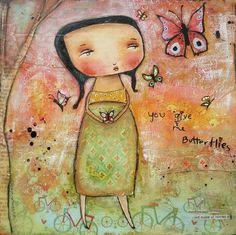 You Give Me Butterflies By Patti Ballard