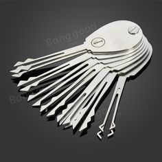 DANIU 20psc plegable de bloqueo de coches bloqueador de doble cara de bloqueo Set herramientas de cerrajería Venta - Banggood.com