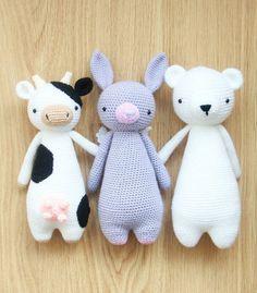 Crochet pattern by Little Bear Crochets: www.littlebearcrochets.com  #littlebearcrochets #amigurumi