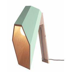 Seletti Woodspot Tafellamp - Groen