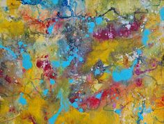 Original Painting Abstract Mixed Media Art by Tamarrisart on Etsy, £45.00