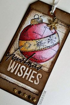 Ink-A-Pink: Tim Holtz 12 tags of 2016- July