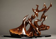 Freeform sculpture - Manzanita wood