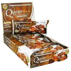 Quest Bars-Cinnamon Roll 48 Bars * Wow! I love this. Check it out now! : Bars Snacks Weight loss dietry