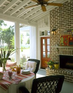 Moser Design Cottage of The Year Porch  (Southern Living House Plan 593)