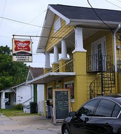 Not much to look at but its.....Southern eating at its best! Franky and Johnny's in New Orleans