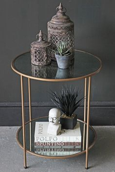 Browse our wide range of side and end tables for every living room - large or small. A range of compact nesting side tables, mirrored side tables, glass side tables, marble side tables and more. Discover side tables here. Mirrored Side Tables, Side Tables Bedroom, Glass Side Tables, Metal Side Table, Chair Side Table, Gold Side Tables, Antique Bedside Tables, Mirror Bedside Table, Round Side Table