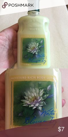 Body lotion Mousture rich body lotion water blossom ivy Bath and body works Other