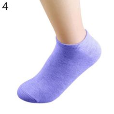 Gorgeous!!! Warm Lady 1 Pair Candy Color Ankle Socks Short Low Cut Crew Casual Sport Boat Socks