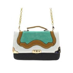 Minerva Collection Fashion Satchel Handbag (perfect for an evening bag while on vacay!) #aioutlet